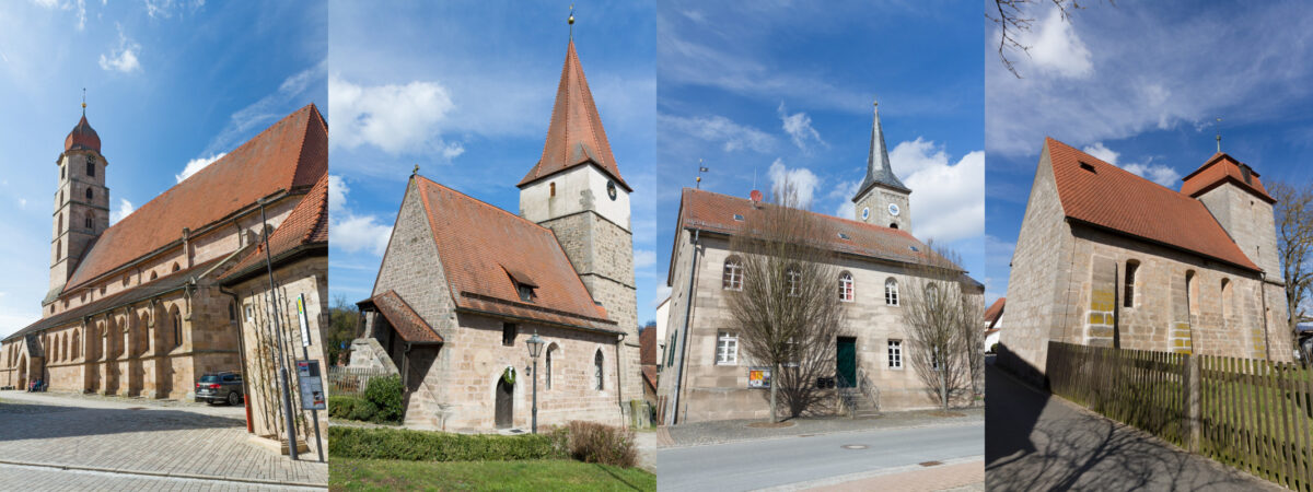 Kirchencollage